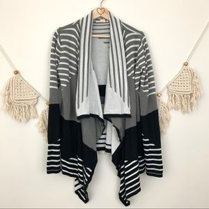 UO Staring At Stars Color Block Striped Cardigan